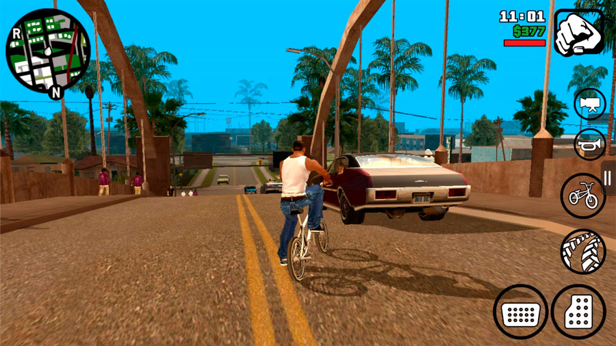 Grand Theft Auto: San Andreas - PC Game Trainer Cheat