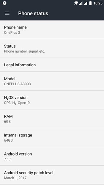 Android 7.1 Beta вышла для OnePlus 3 и OnePlus 3T
