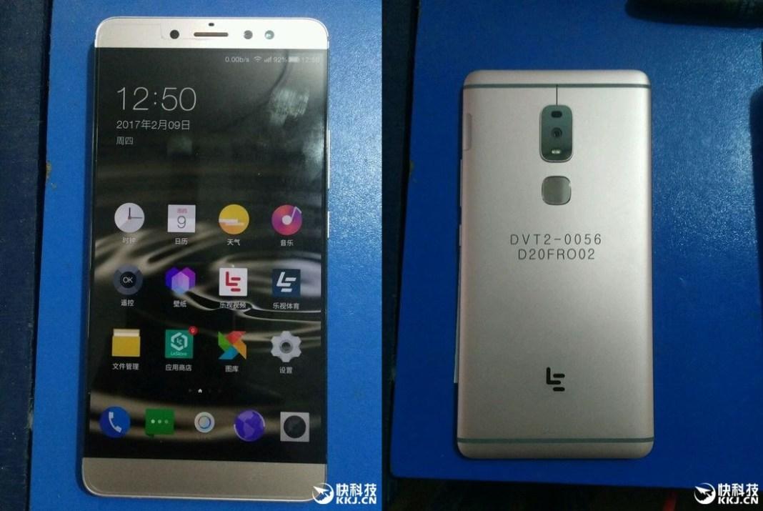 Показаны живые кадры будущего флагманского телефона LeEco LeMax 3 (LeX850)