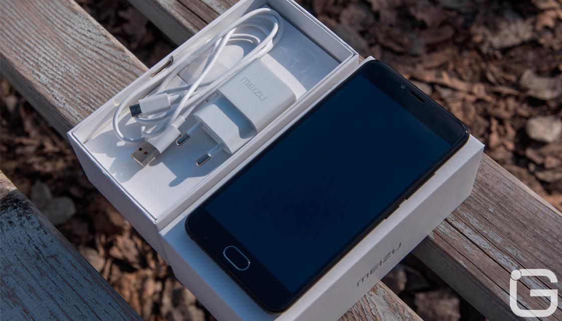 1-ый смартфон Meizu сдвойной камерой показался нафото