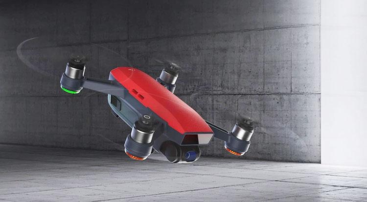 DJI Spark: «взрослый» селфи-дрон суправлением жестами