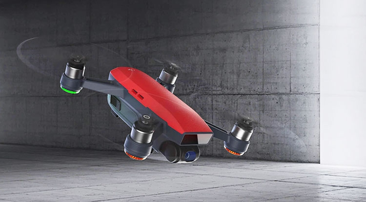 Анонсирован ультракомпактный дрон DJI Spark
