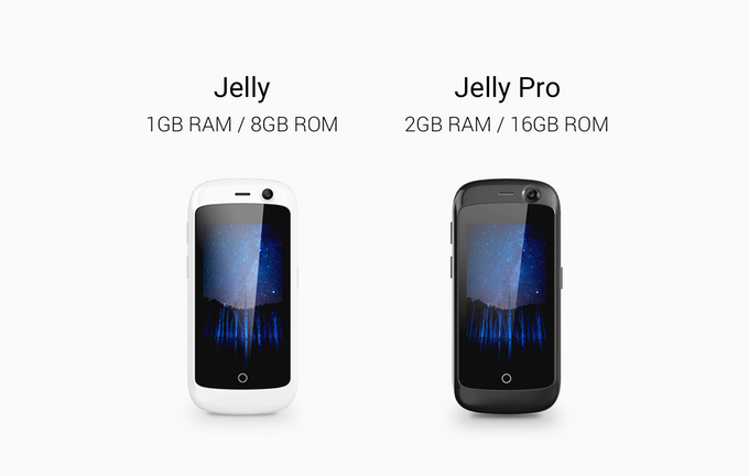 Jelly — миниатюрный Android-смартфон с LTE