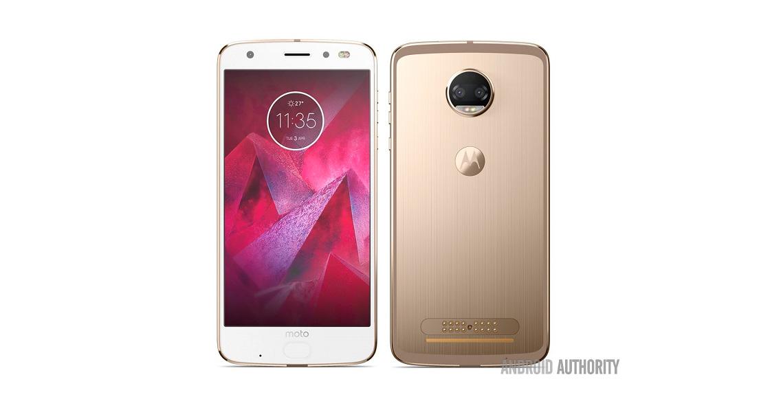Появилось фото новейшего смартфона Motorola Moto Z2 Force