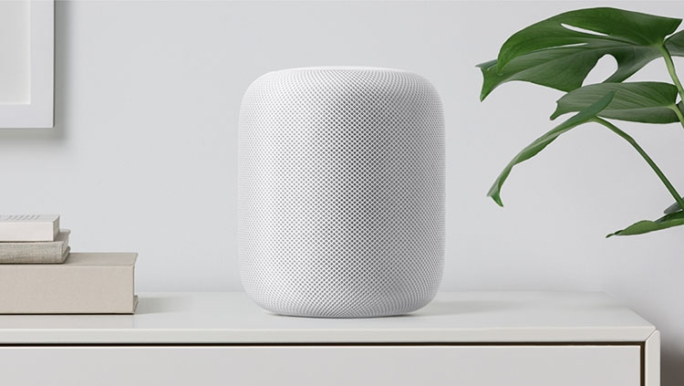 Компания Apple показала свое новое изобретение— умную колонку