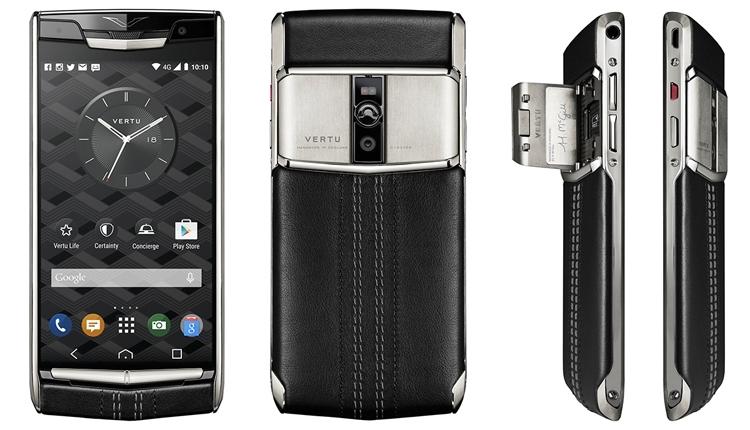 Vertu начинает сотрудничество спроизводителем телефонов Alcatel иBlackBerry