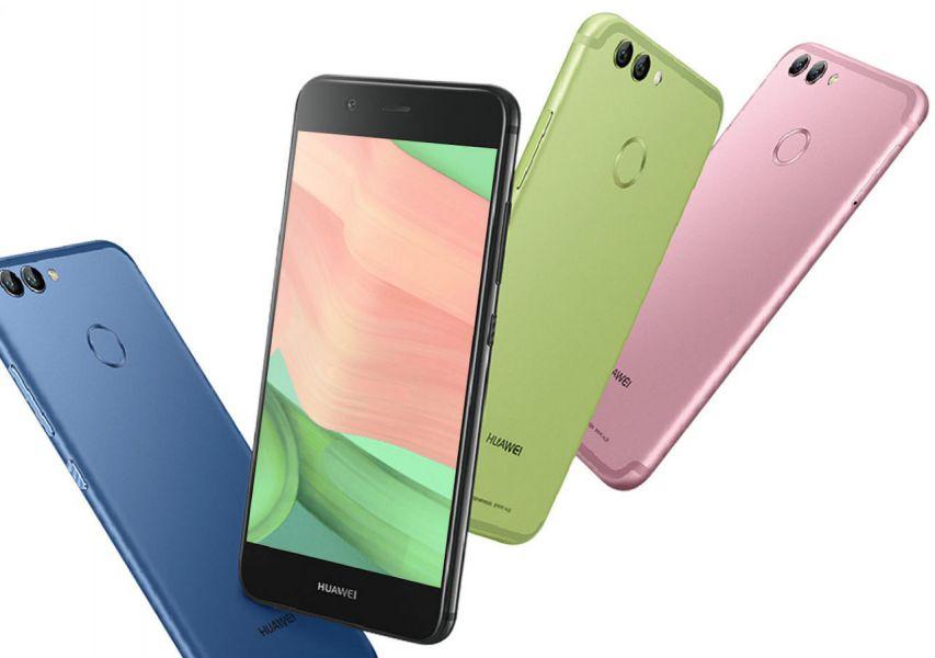 Huawei назвала российские цены на смартфоны Nova 2 и Nova 2 Plus