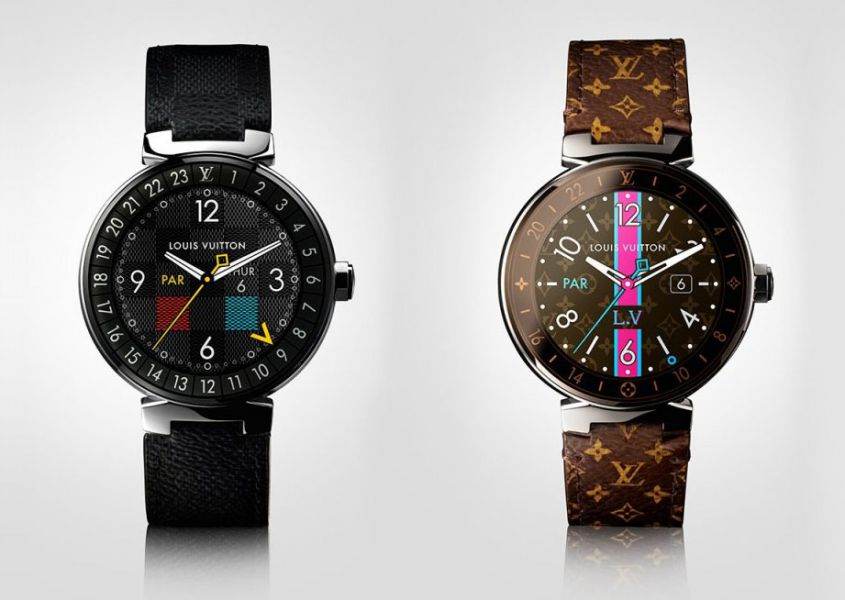Louis Vuitton продемонстрировал «умные» часы