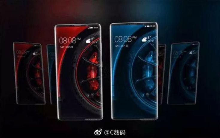 Размещены новые рендеры Huawei Mate 10 Pro