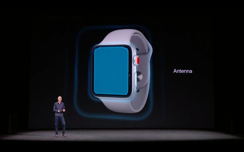 Apple анонсировала Watch Series 3