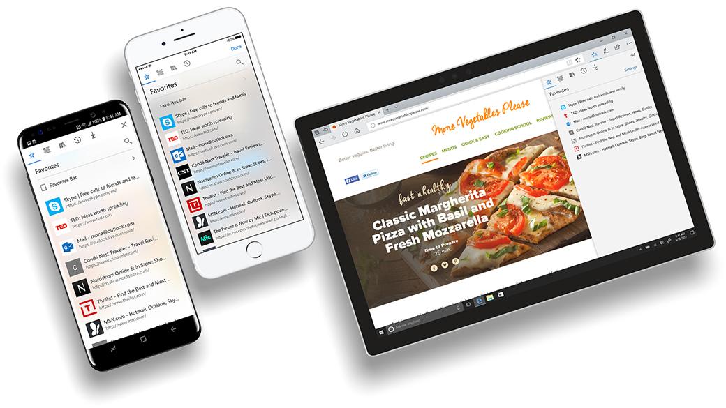 Microsoft Edge может выйти на андроид иiOS