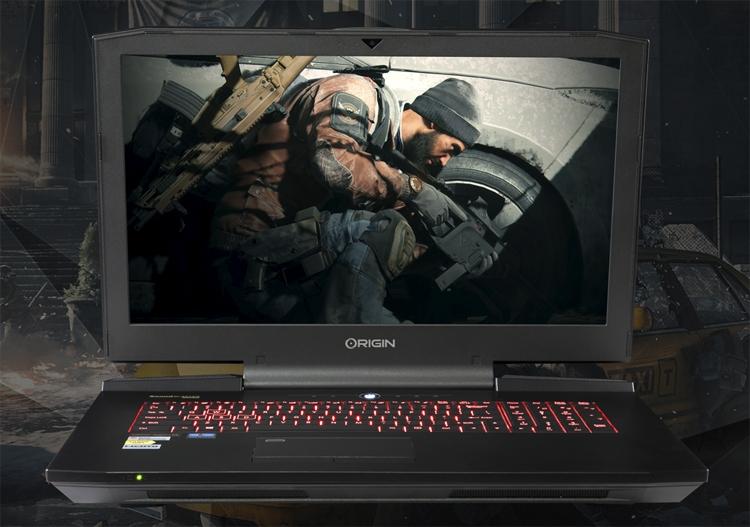 OriginPC предлагает ноутбуки снастольными процессорами Intel Coffee Lake