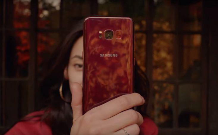Смартфон Самсунг Galaxy S8 стал доступен вцвете Burgundy Red