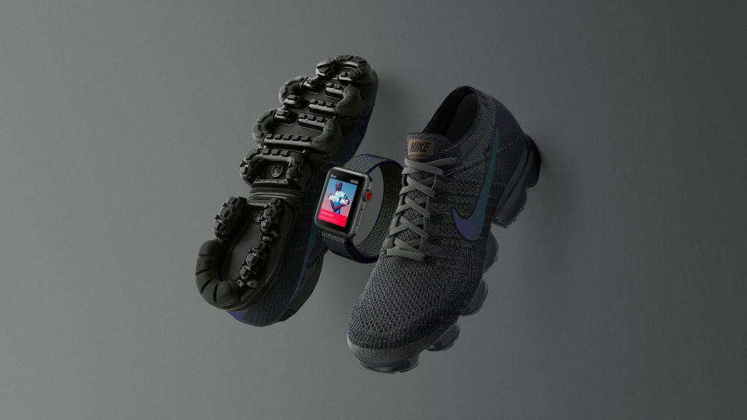NIKE представила «заряженную» версию смарт-часов от Apple