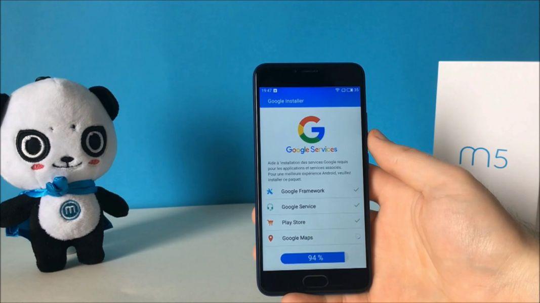 В мобильные телефоны Meizu интегрированы сервисы Google