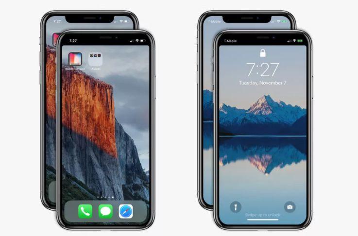 Появилось приложения для устранения «моноброви» iPhone X