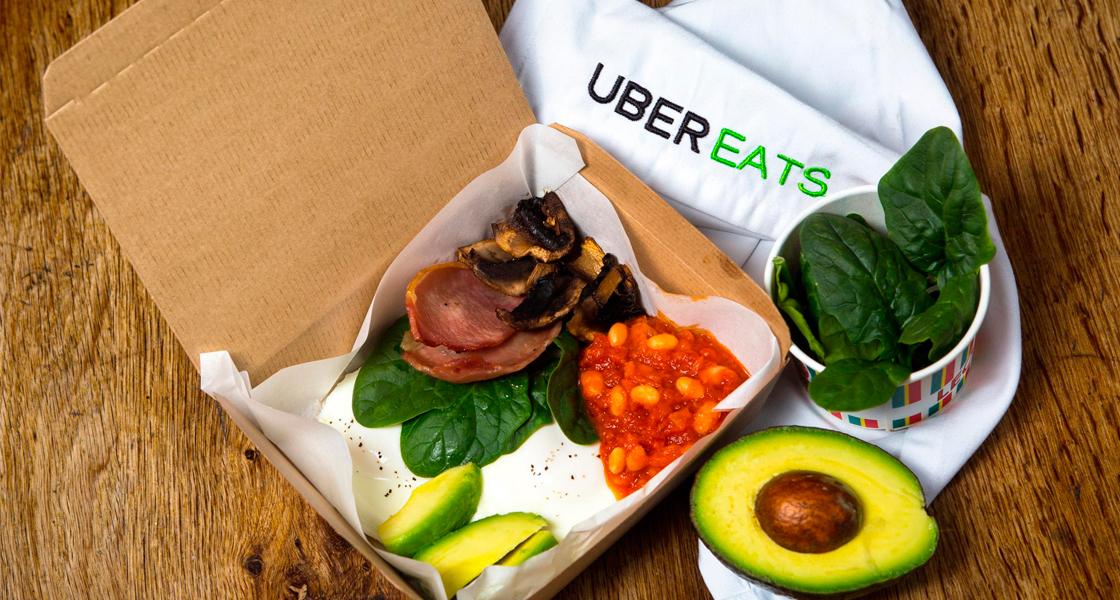 Британский Uber Eats начнёт доставлять похмельные завтраки