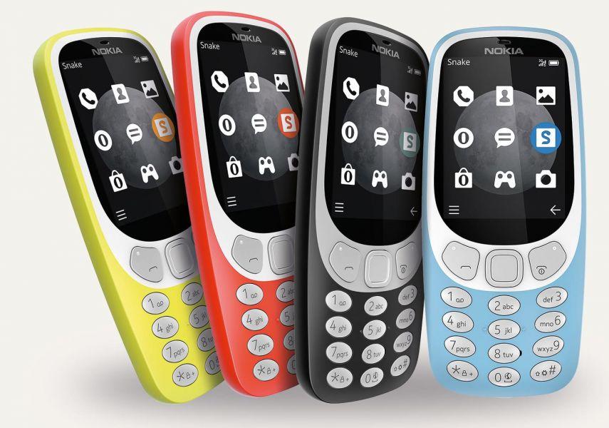 Анонсирована кнопочная звонилка Nokia 3310 с поддержкой 4G-сетей
