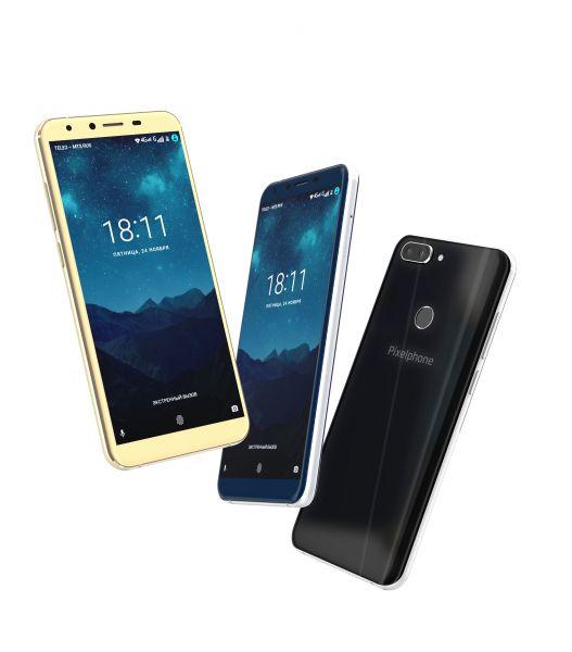 Русский безрамочный смартфон Pixelphone M1 появился впродажах