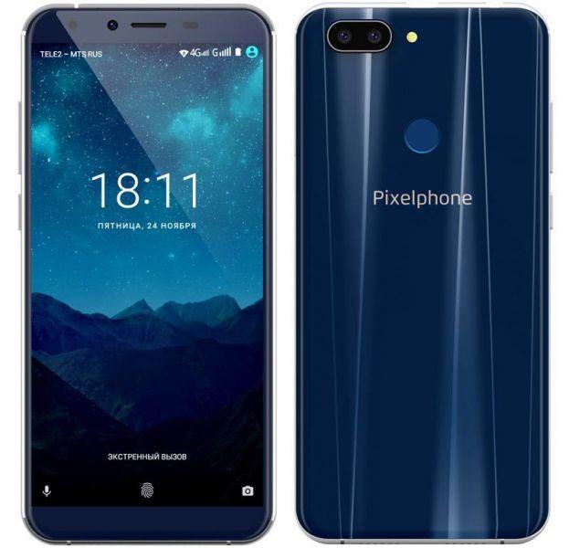Русский смартфон Pixelphone M1 представлен официально