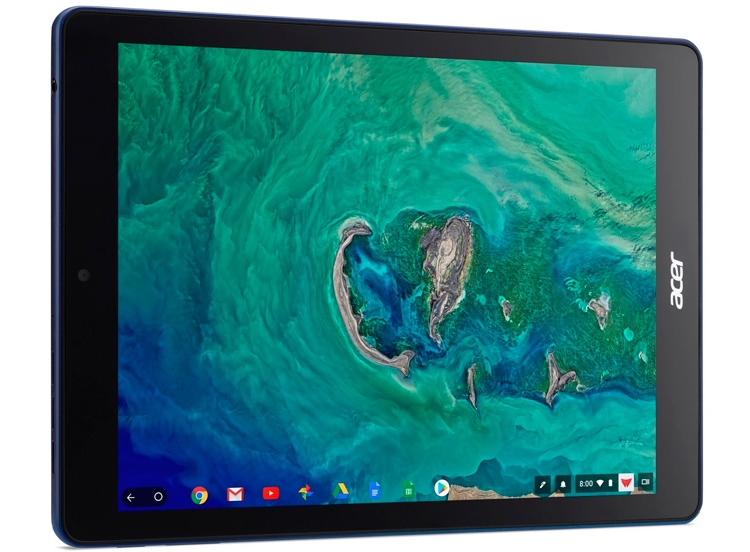 Acer представила 1-ый вмире планшет наChromeOS