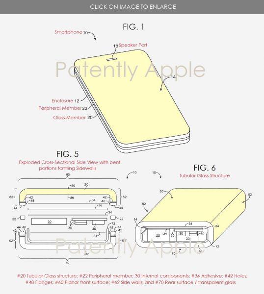 Apple запатентовала iPhone из стекла