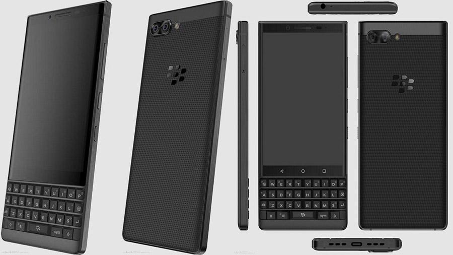ВСеть слиты рендеры телефона BlackBerry Athena сQWERTY-клавиатурой