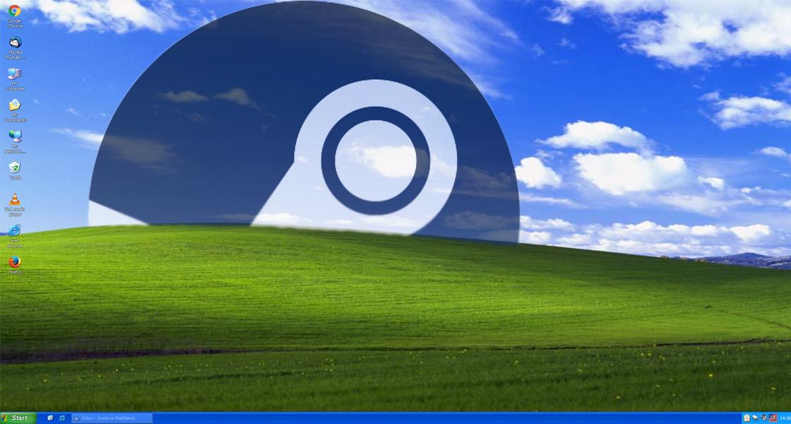 Сотни тыс. пользователей WindowsXP вскором времени несмогут запустить Steam