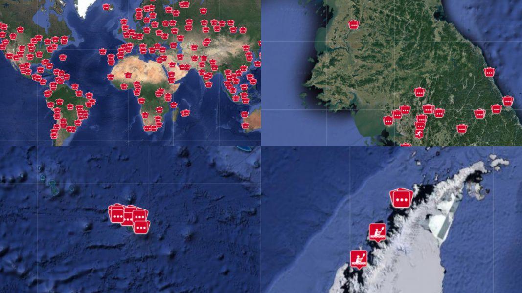 Фитнес-трекер Polar рассекретил нахождение спецслужб по всему миру