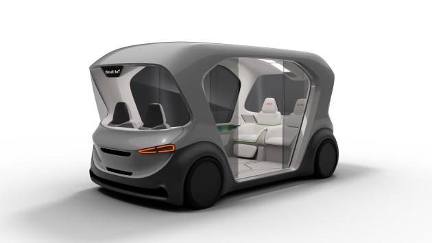 «Умные» холодильники, газонокосилки и автобусы-шаттлы Bosch вышли в Интернет