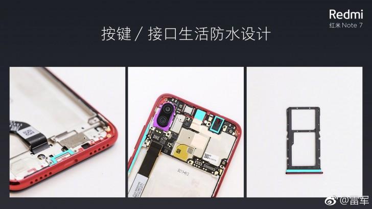 Redmi Note 7 оказался водонепроницаемым
