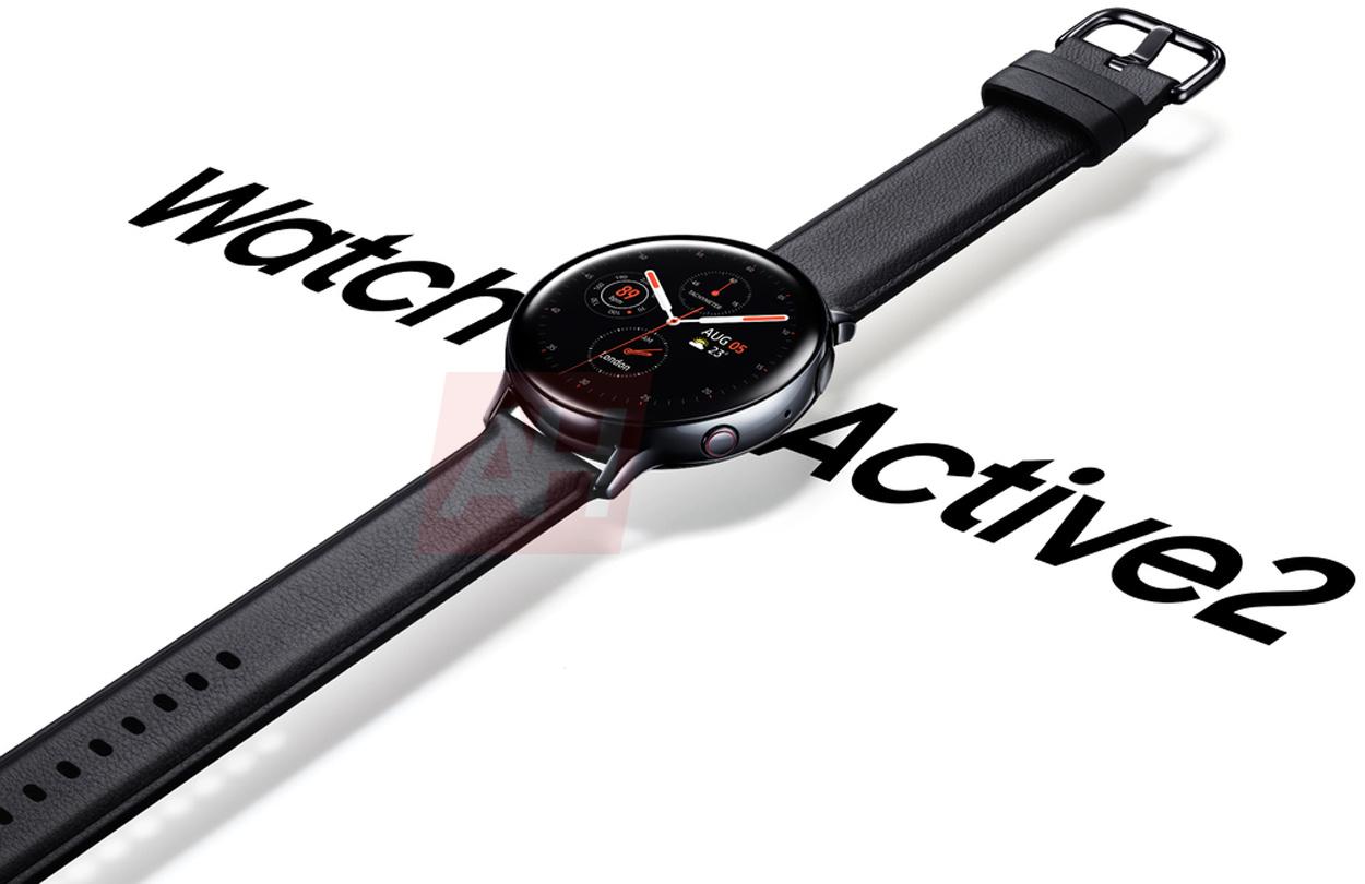Появилось первое официальное изображение Samsung Galaxy Watch Active 2