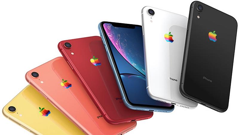 Apple может вернуть радужный логотип