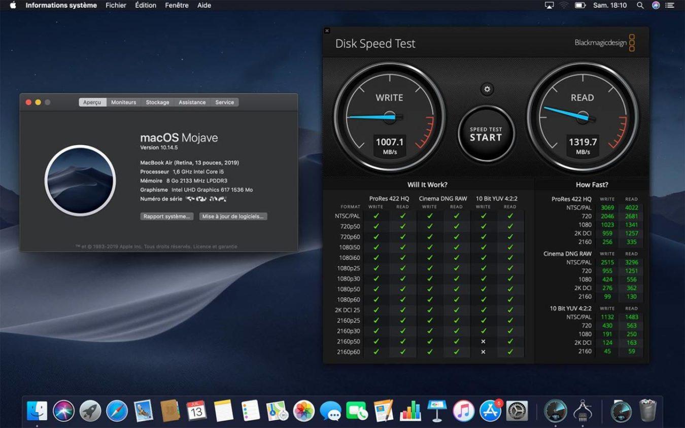 MacBook Air 2019 года получил более медленный SSD-накопитель