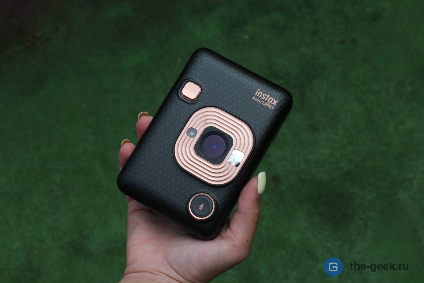 Обзор Instax Mini LiPlay: фотокарточки со звуком