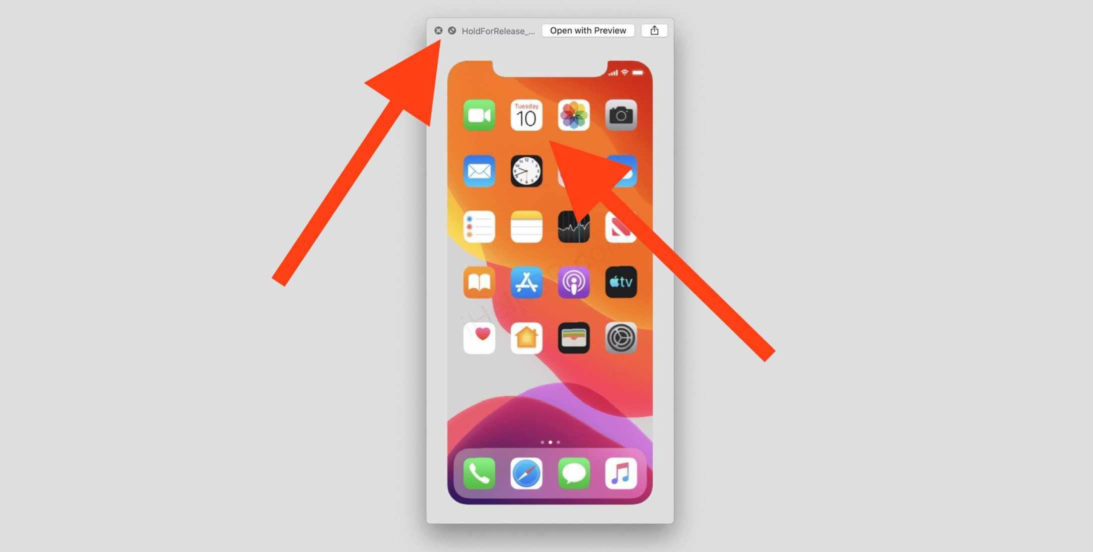 Дата презентации Apple была зашифрована в в iOS 13