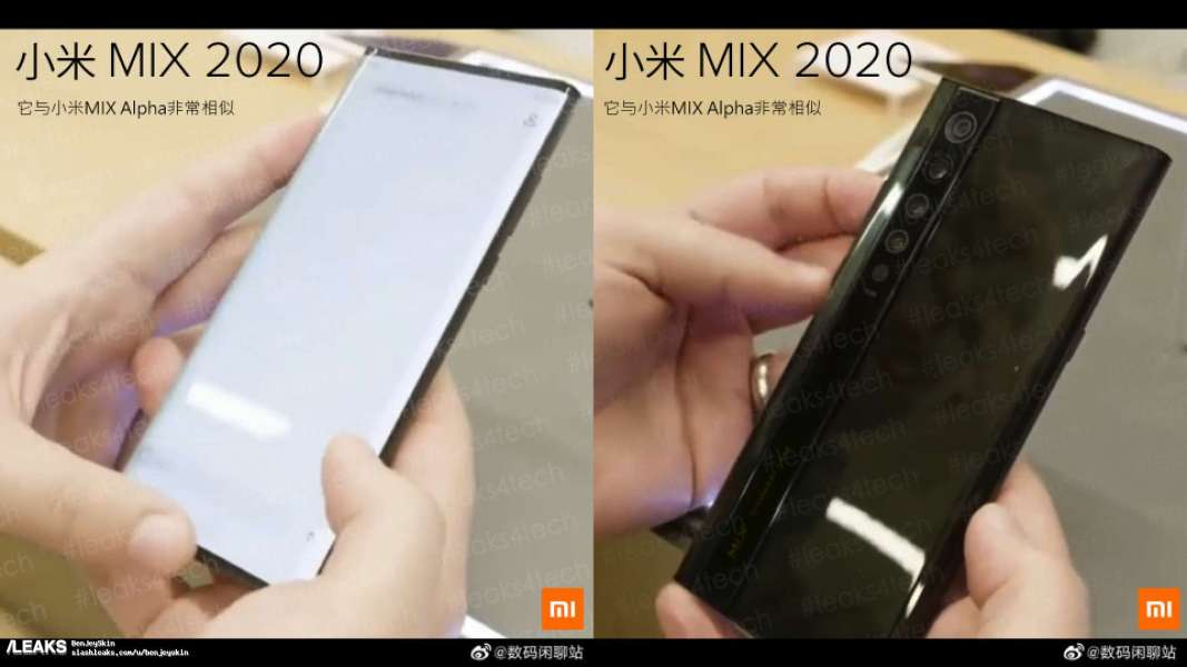 Another Live Photo Of Mi Mix 4