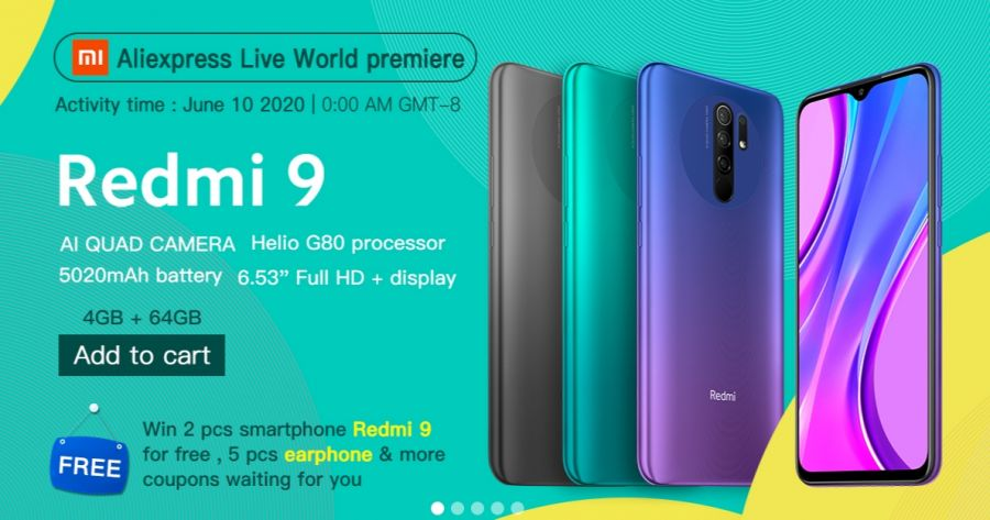 Redmi 9 Aliexpress The Geek.ru