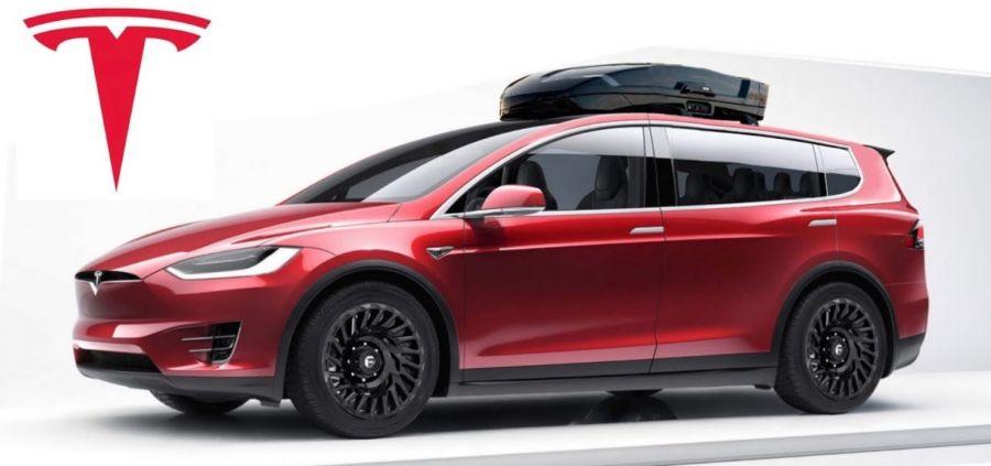 Tesla Model X Electric Van Large