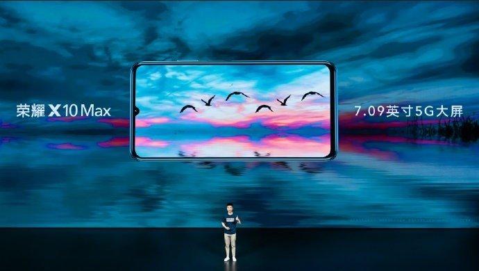 Анонсирован немалый смартфон Honor X10 Max